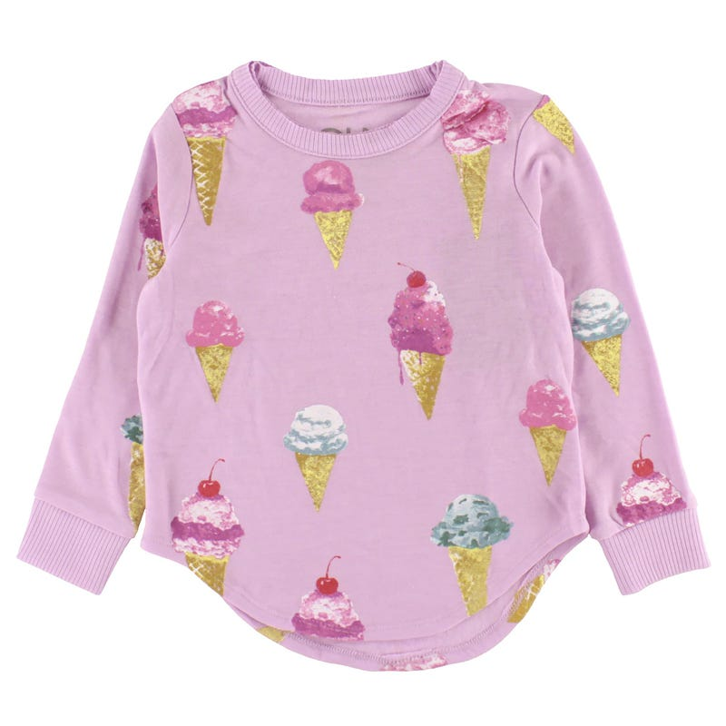 Ice Cream Sweatshirt 4-12y