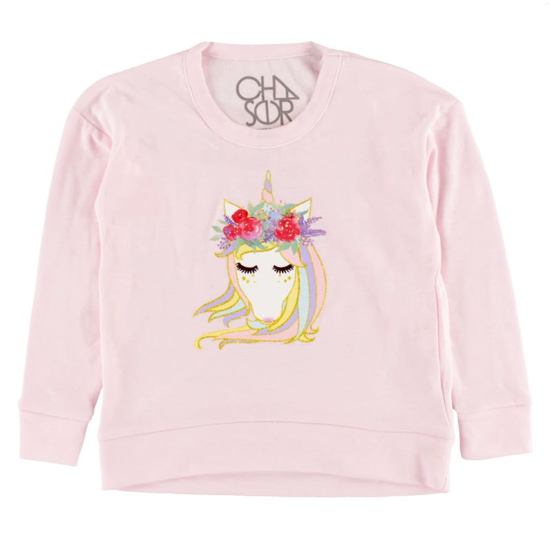 Unicorn Sweatshirt 4-12y