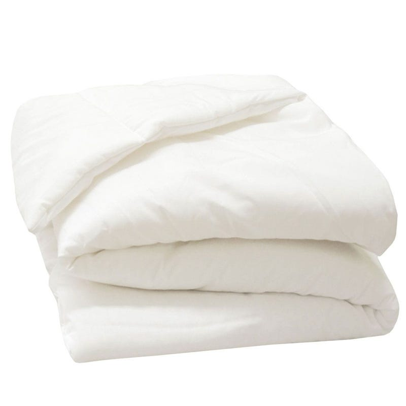 Twin Duvet Fiber - White