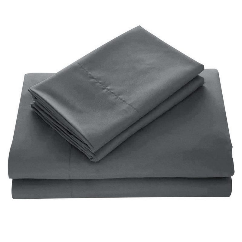 Double Sheets Set - Grey