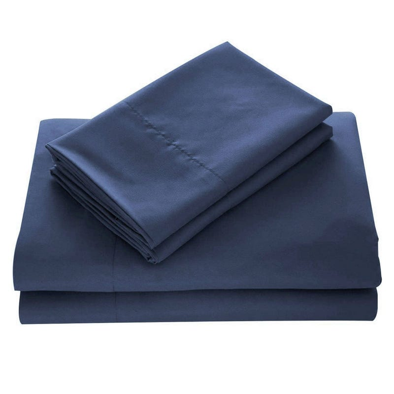 Double Sheets Set - Denim