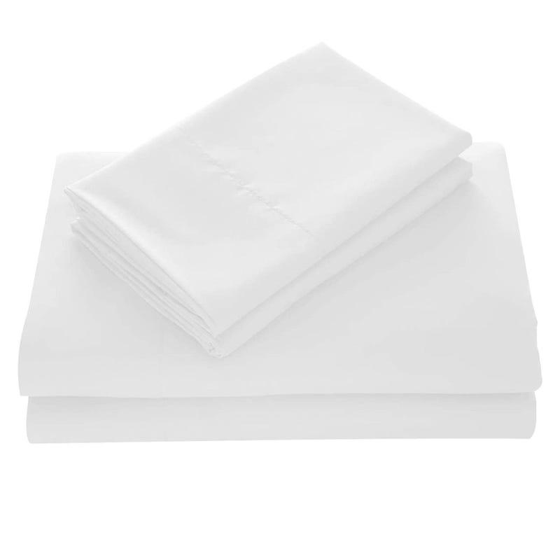 Ensemble de Draps Lit Simple - Blanc