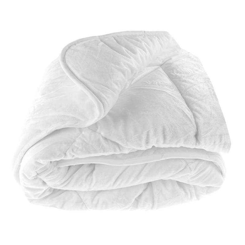 Twin Duvet Extra Soft Polar - White