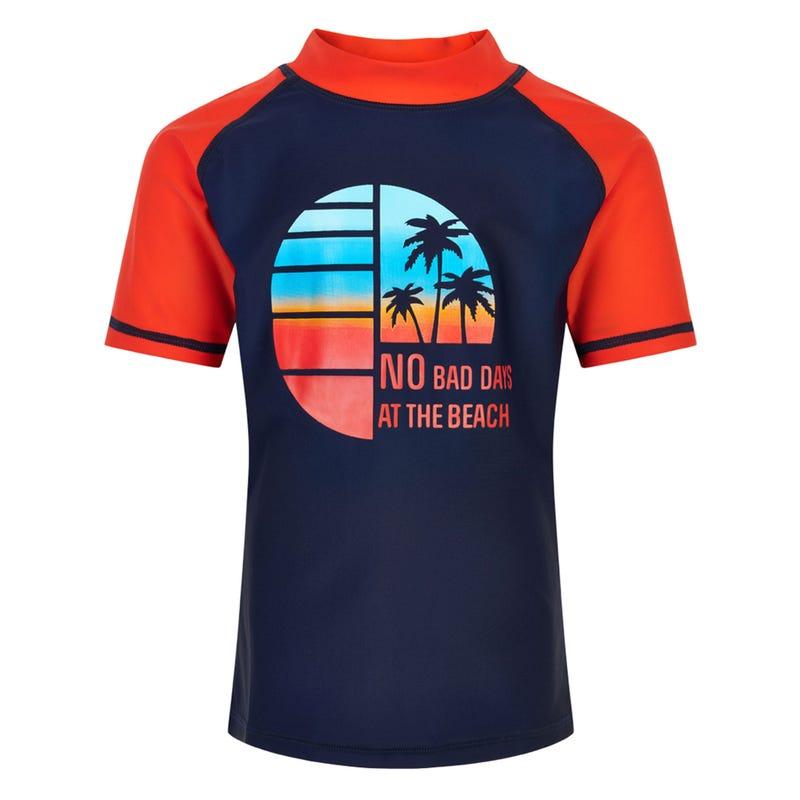 T-Shirt Maillot UV Palmier 3-8ans