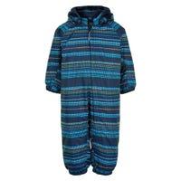 Dotted Stripes Snowsuit 12-24m