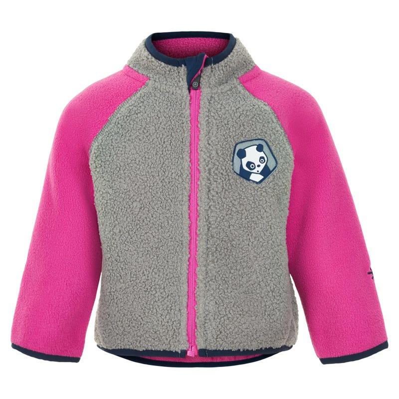 Panda Fleece Jacket 12-24m