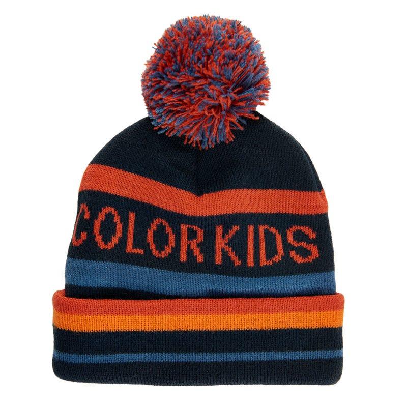 Color Kids Pompom Beanie 2-7y