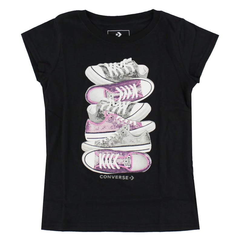 T-Shirt Sequin Stacked 4-6ans