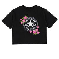 Rose Cropped T-Shirt 8-16y