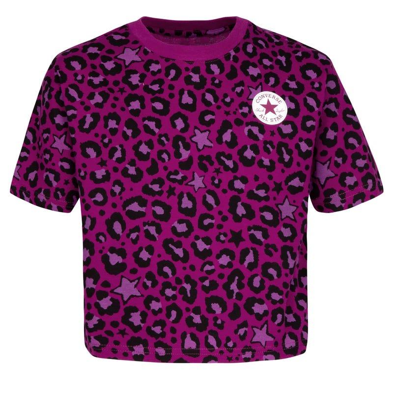 Cheetah T-shirt 7-16y