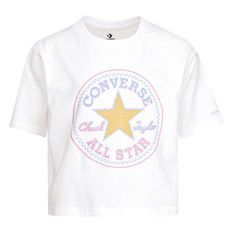 T-shirt Faux Sequin Boxy 7-16ans