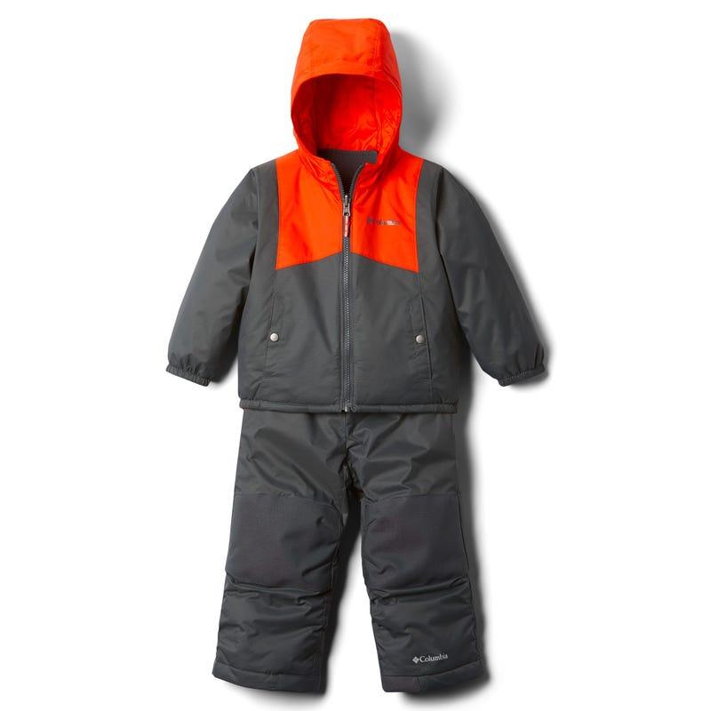 Double Flake Snowsuit 2-4t