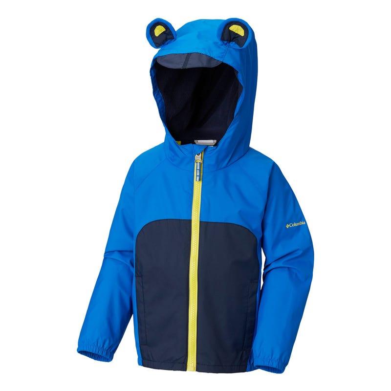 Kitteribbit™ Fleece Lined Rain Jacket 3-4y
