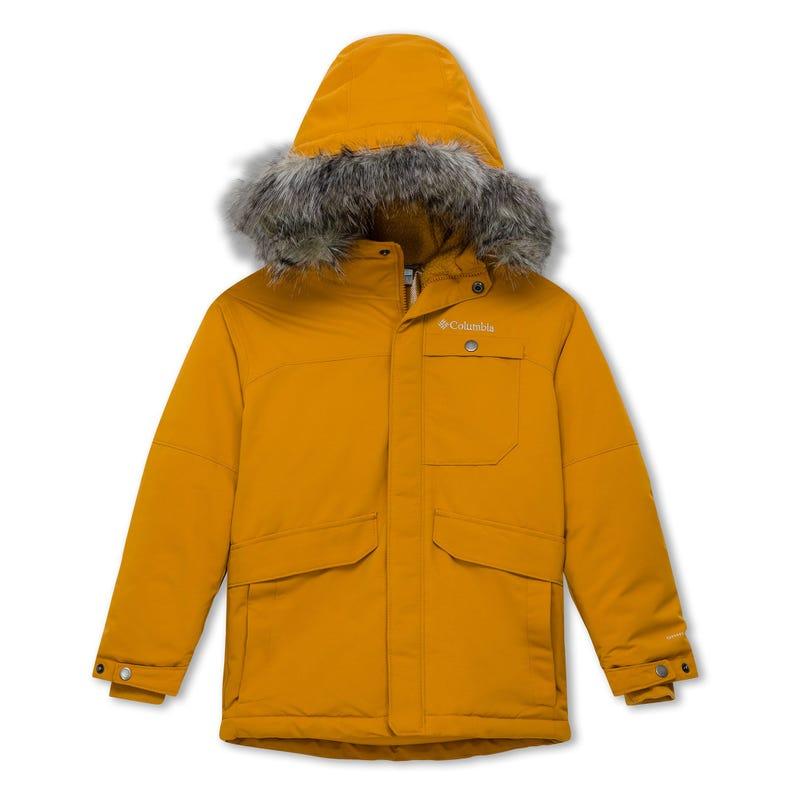 Nordic Strider Jacket 8-16- Yellow/Grey