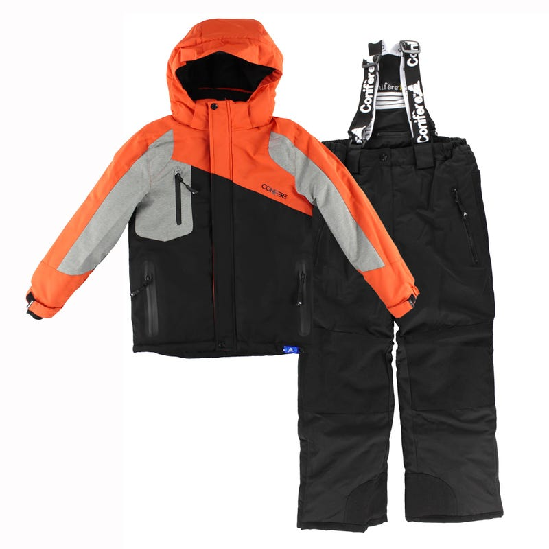Textured Boy Snowsuit 4-6