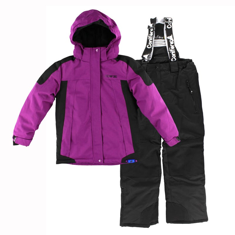 Texture Girl Snowsuit 7-14