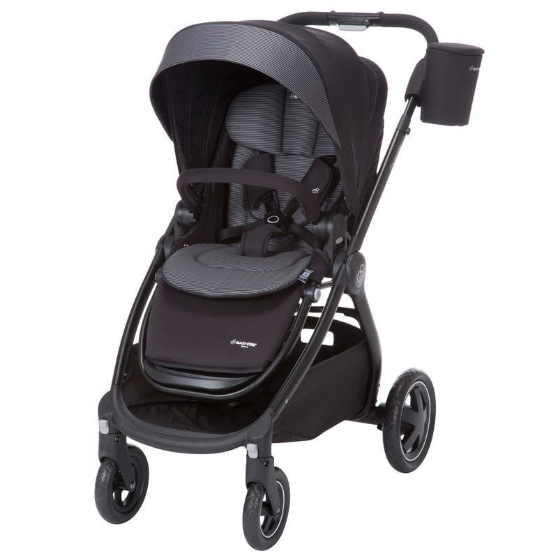 Adorra Stand Alone Stroller - Devoted Black