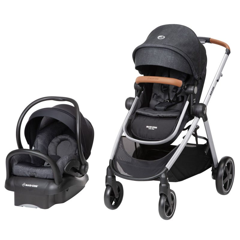 Zelia Max 5-in-1 Modular Travel System with Mico Max 30 - Black