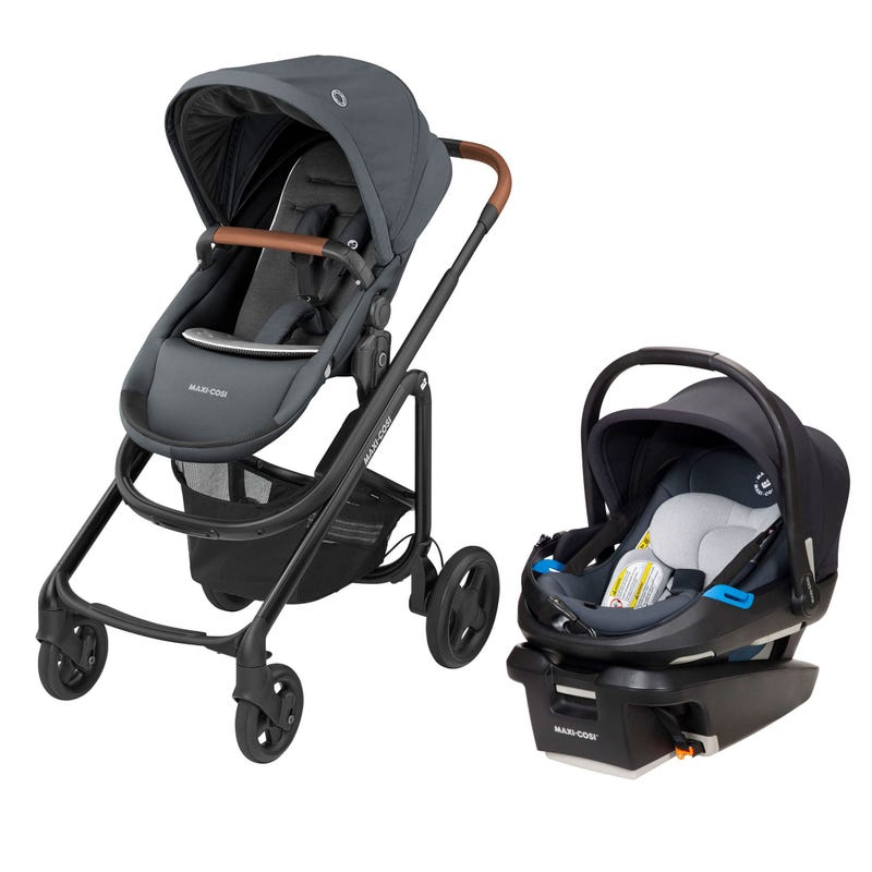 Lila CP Coral XP Travel System - Graphite