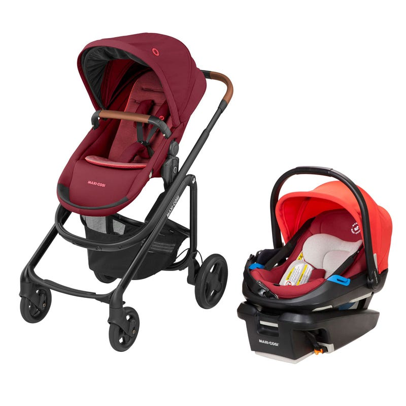 Lila CP Coral XP Travel System - Red
