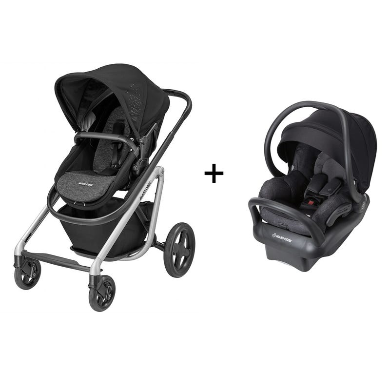 Travel System Lila Maxi-Cosi Stroller + Mico Max Car seat