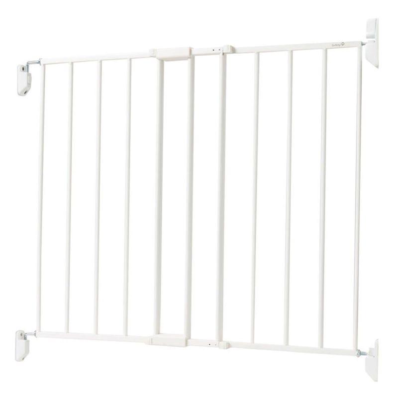 Barrière en Métal pour Haut d'Escalier - Blanc