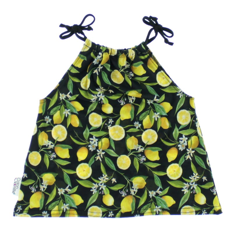 Tank Top 6-24m - Lemon