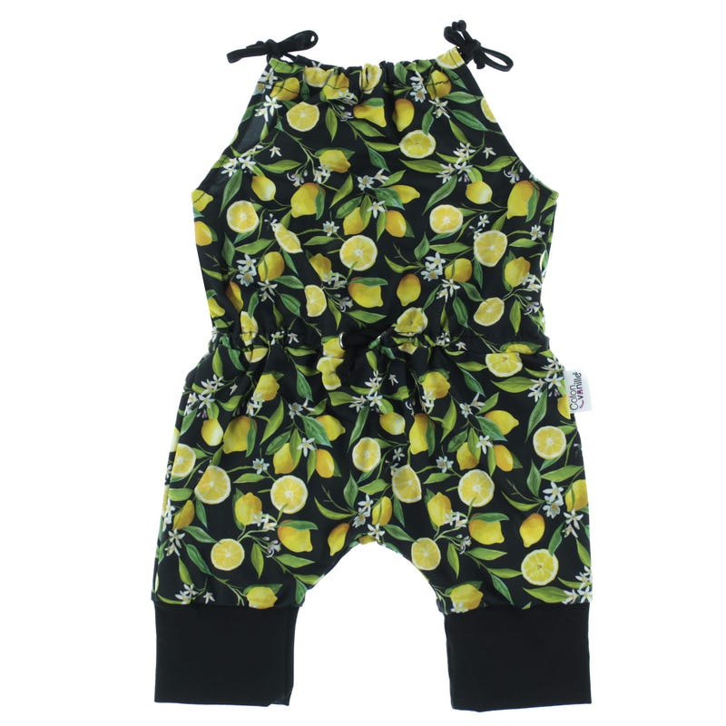Romper 6-24m - Lemon