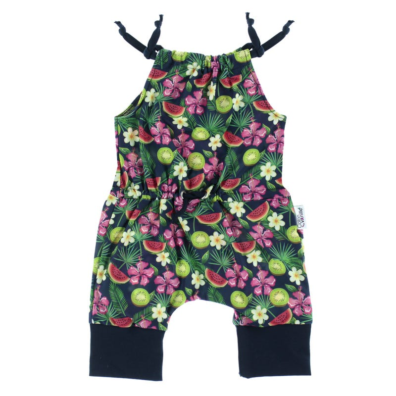 Romper 6-24m - Tropical