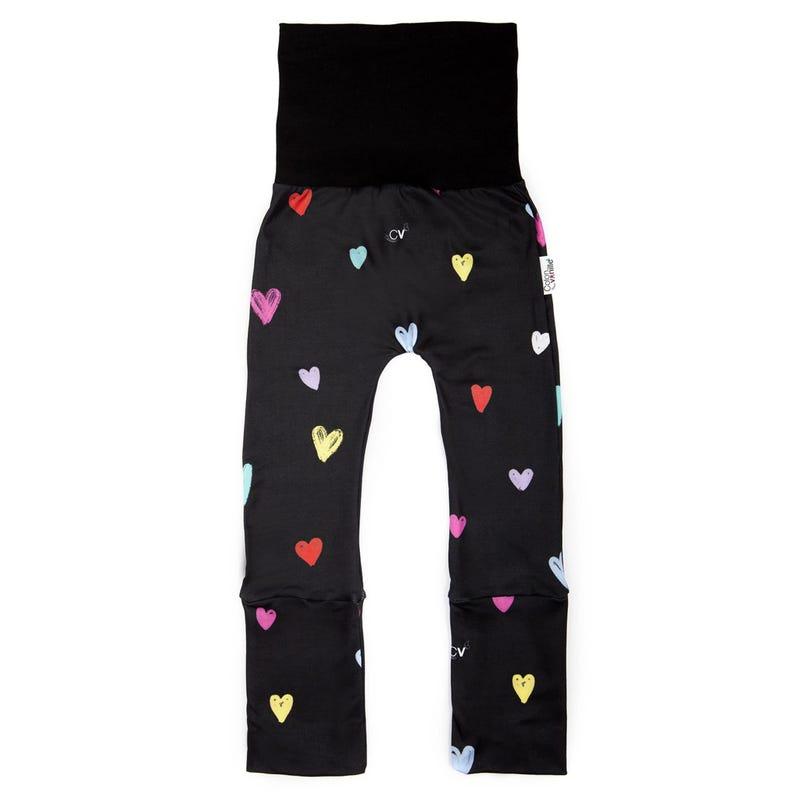 Pantalon Évolutif Coeurs 0-36mois
