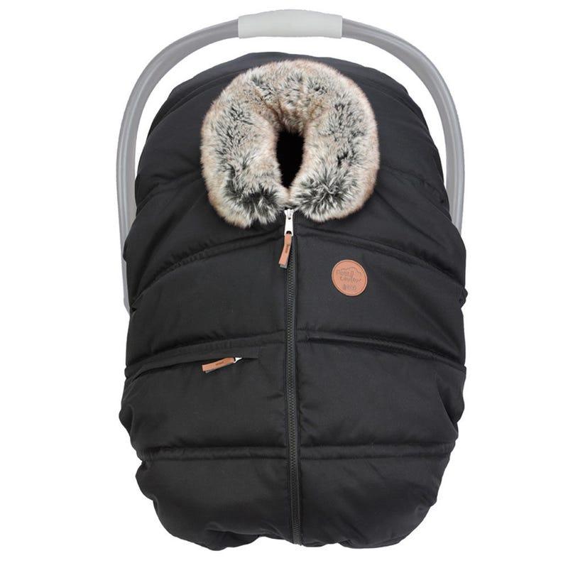 Winter Baby Car Seat Cover - Ebony Eco