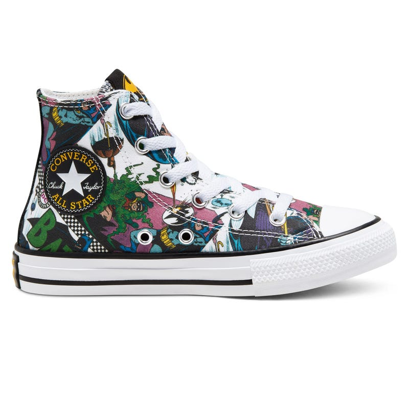 Soulier Batman Chuck Taylor All Star High Pointures 11-3