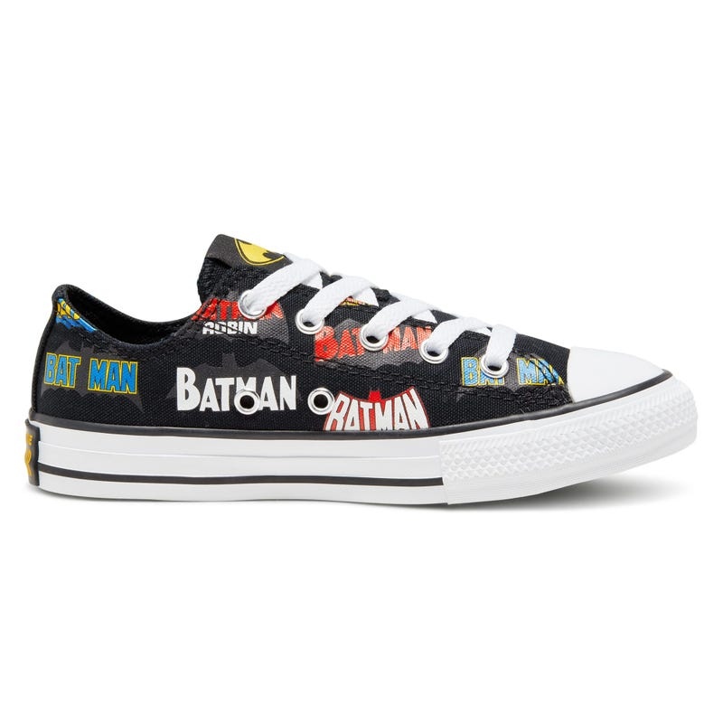 Soulier Batman Chuck Taylor All Star Low Pointures 11-3