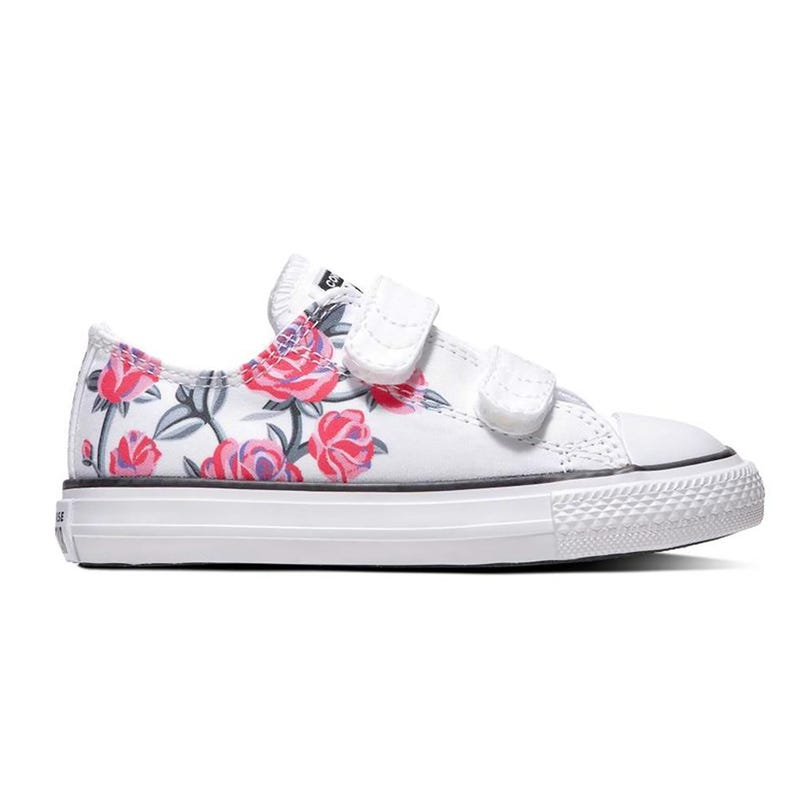 Chuck Taylor All Star Low Top Sizes 4-10 - Flowers