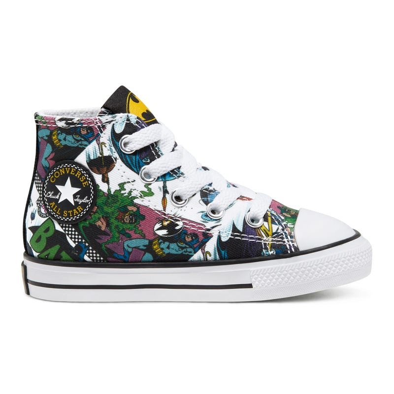 Batman Chuck Taylor All Star High Top Size 4-10