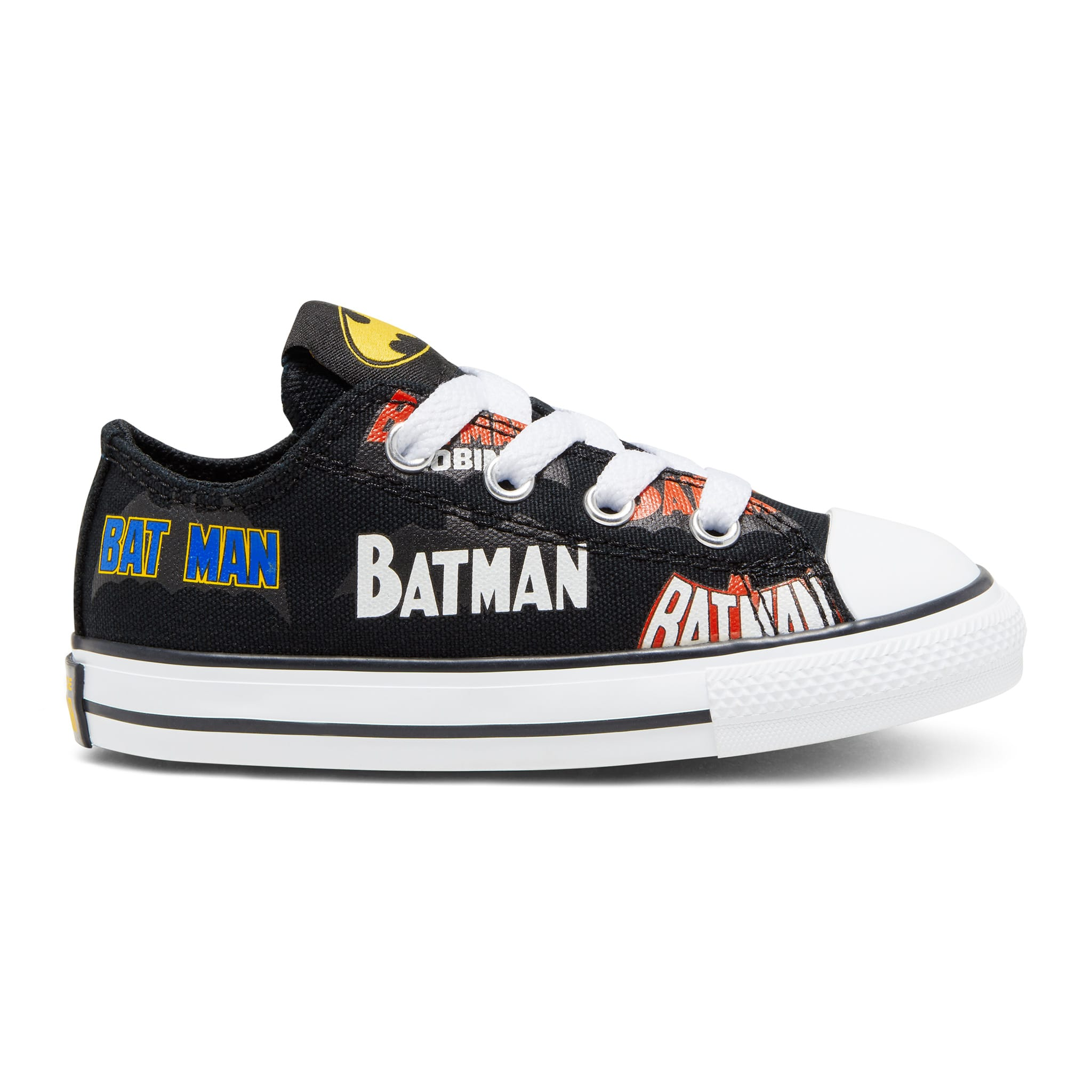 Converse Batman Chuck Taylor All Star Low Top Size 4 10 Clement