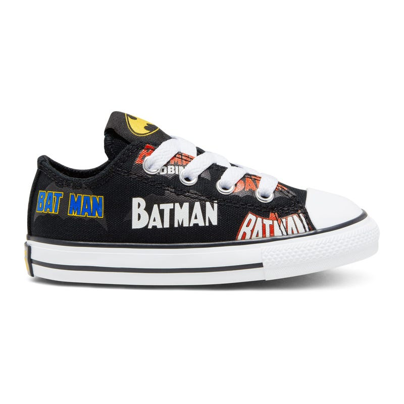 Soulier Batman Chuck Taylor All Star Low Pointures 4-10