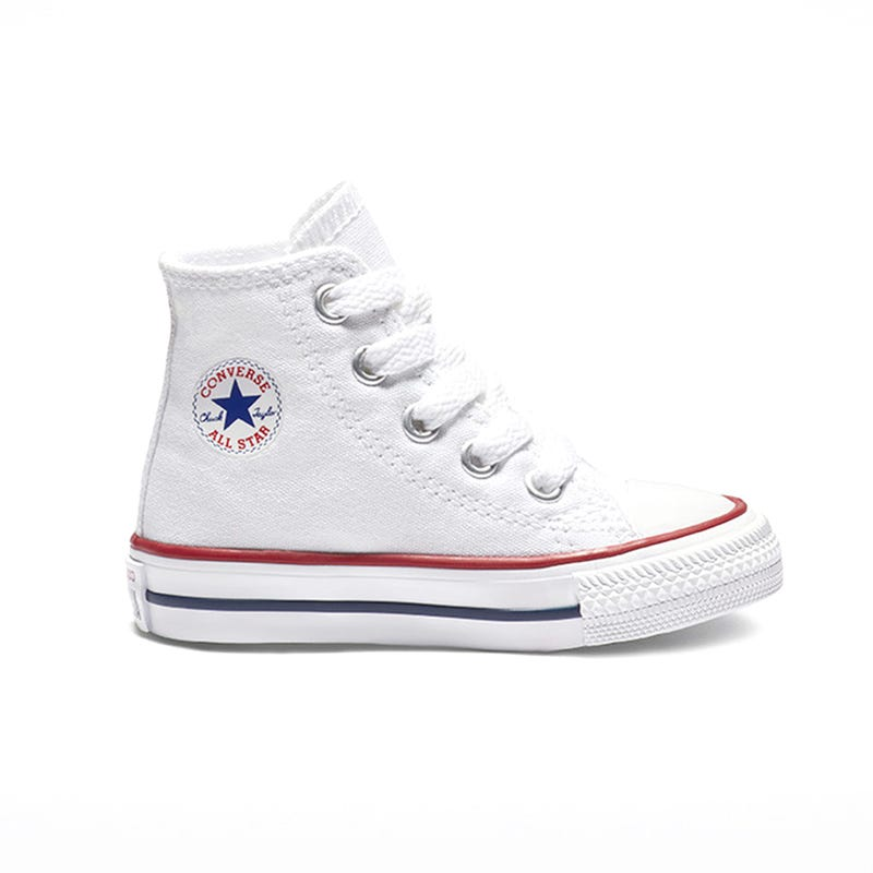 Chuck Taylor All Star High Top Sizes 2-10 - White