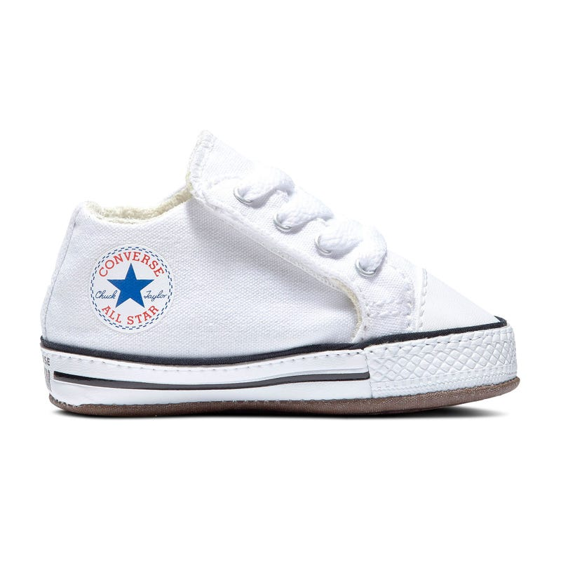White Chuck Taylor Shoe Sizes 1-4