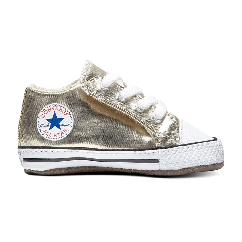 Soulier Pearlized Party Chuck Taylor Pointure 1-4 - Or