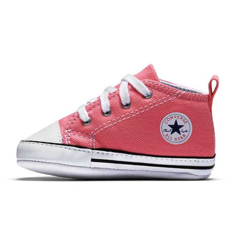 Chuck Taylor First Star Sizes 1-4 - Pink