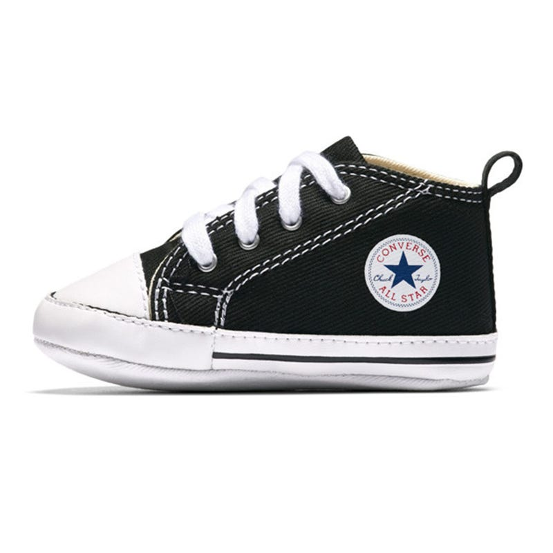 Chuck Taylor First Star Sizes 1-4 - Black