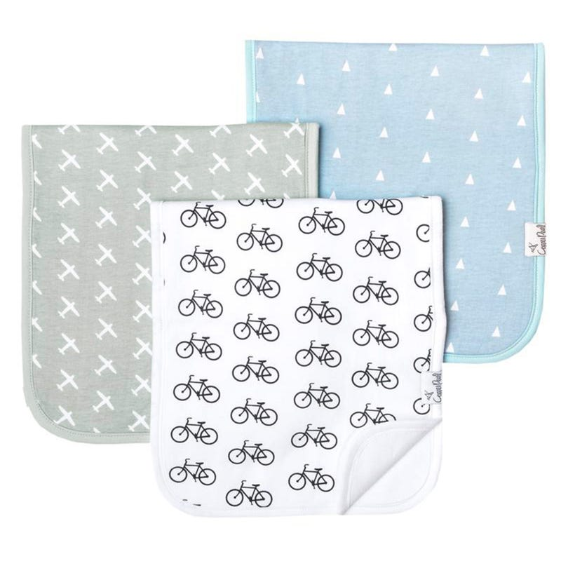 Burp Cloths set of 3 - Cruise