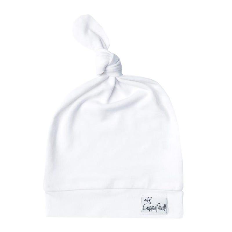 Dove White  hat 0-4m