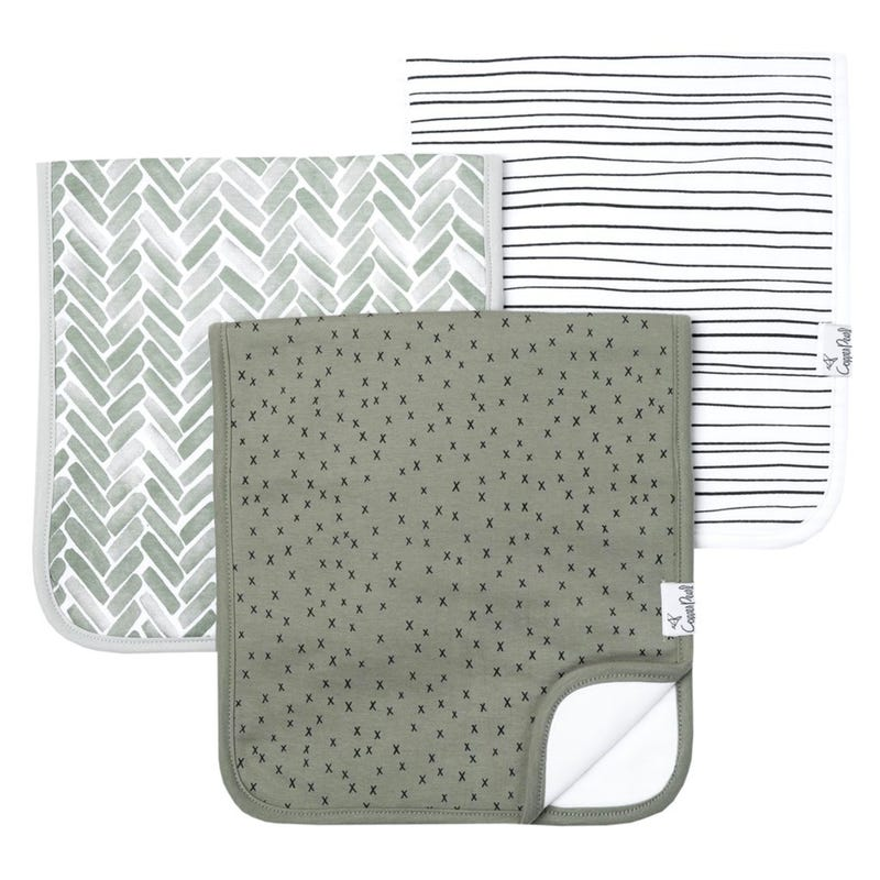 Burp Cloths Set of 3 - Alta
