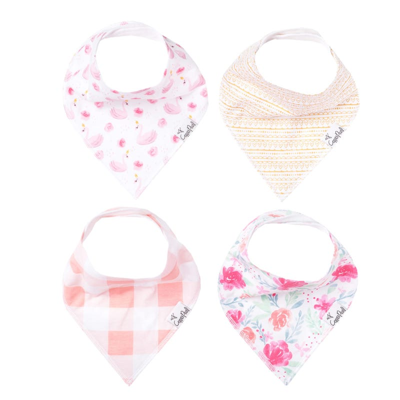 Baby Bandana Bibs Set of 4 - June