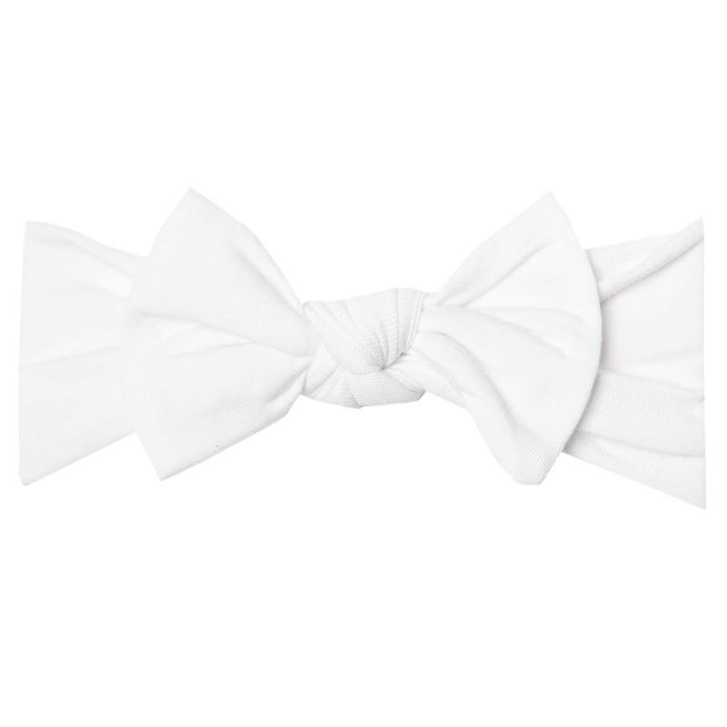 Bandeau 0-4mois - Blanc Dove