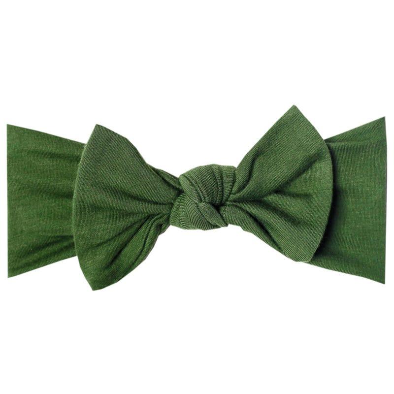 Knit Headband 0-4months - Green Alder