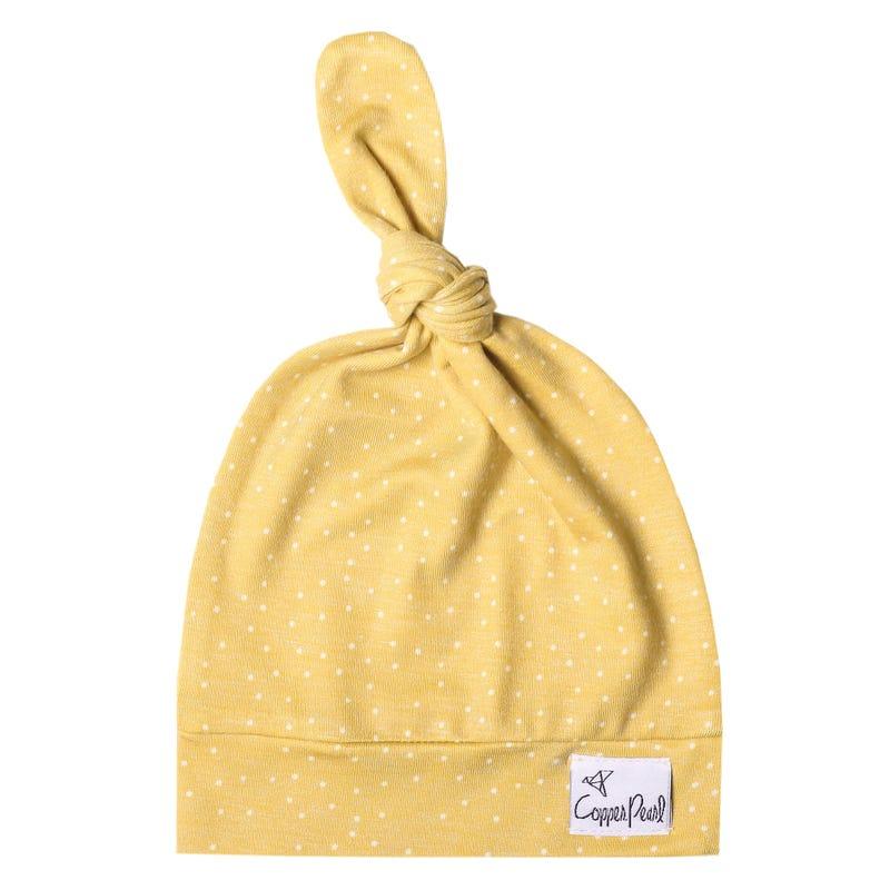 Chapeau 0-4mois - Jaune Marigold