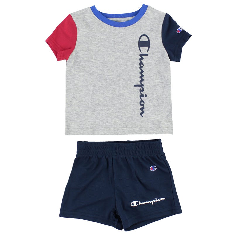 Colorblock T-Shirt Set 12-24m